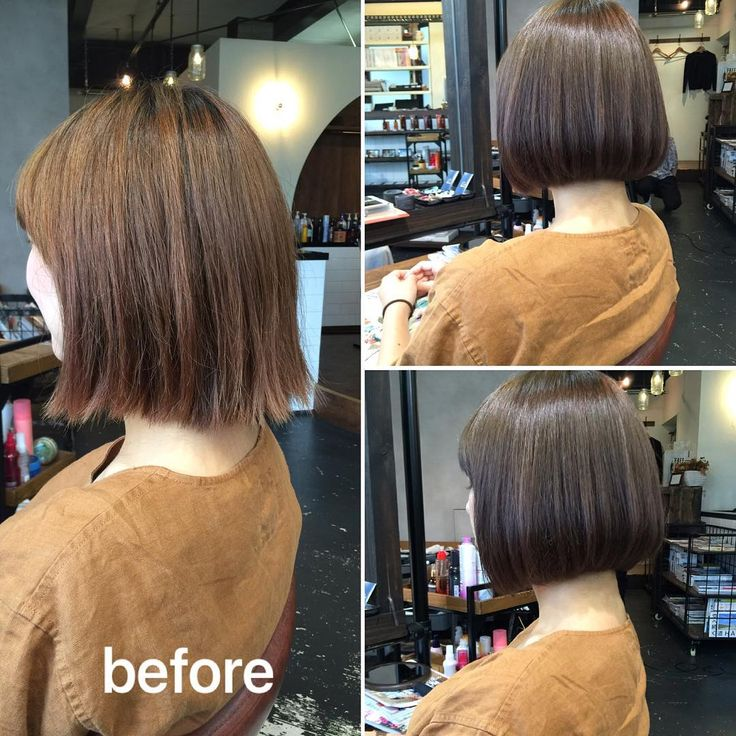 ma_rnnbefore→after やわらかい自然な内巻きボブ!  カット クセ・髪質に合わせたカットで内巻きにまとまりやすく。 今回はカットのみで仕上げてます。 髪質改善ストレートをオススメすることも!  カラー 深みのあるウォームグレージュ  髪質改善ストレートは夏時期で広がりやすい時にでもまとまりやすく崩れにくいのでおすすめです♪  乾かすだけでツヤのある仕上がりになります!  LINEにて料金やご相談、ご予約お受けしてます!  原宿、明治神宮前 LYON トップデザイナー 伊丹 優太  LINE ID yuta-itami  TEL 03-6804-5308  #ハイライト#ハイライトカラー #ヘアカラー #トリートメント #グレージュ #ワンレン #内巻きボブ #ボブ #髪質改善 #ネイル #マツエク #ヘアアレンジ #バイオレットアッシュ #アッシュ #美容室 #前下がり #ストレート #縮毛矯正 #ケア #髪の悩み #ツヤ #ベージュカラー