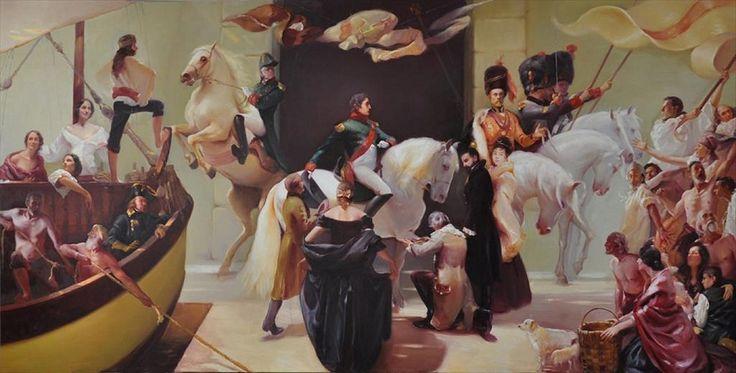 Napoleone in un quadro di Luciano Regoli | Elbacomunico