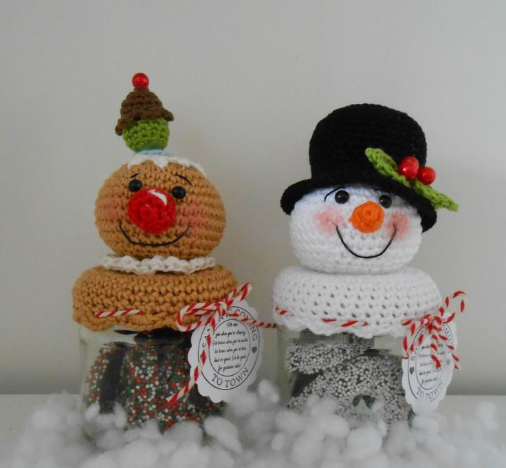 Bizzy Bee Klaske: Patroon Kerstpotjes