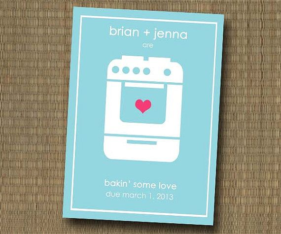 11 best Bun in the Oven Baby Shower Party Theme images on – Bun in the Oven Baby Announcement