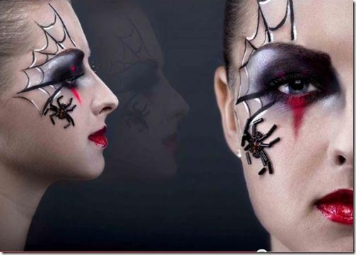Maquillaje de fantas a de ara ita para m s informaci n for Como pintarse de bruja guapa