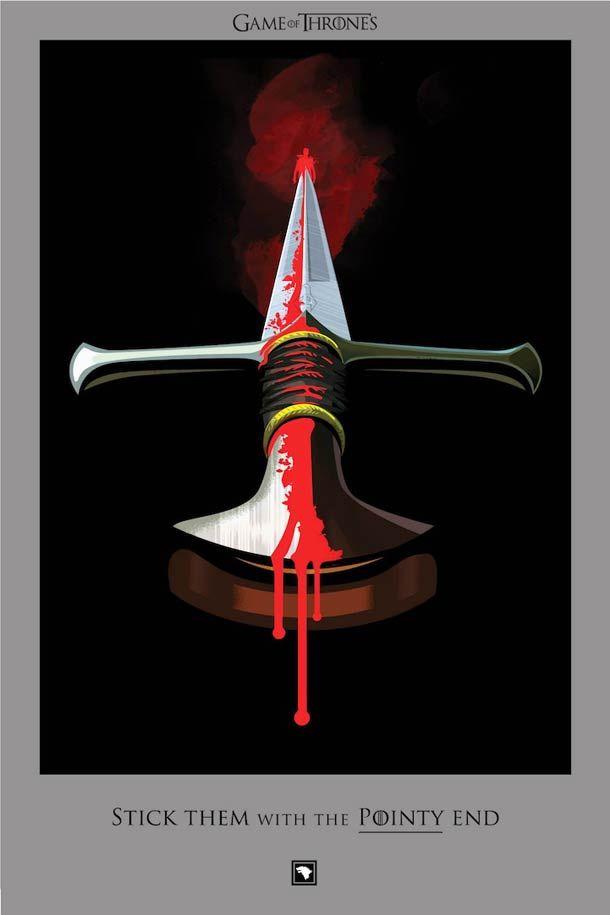 Beautiful Death – Toutes les morts de Game Of Thrones dans de superbes illustrations ! (image)