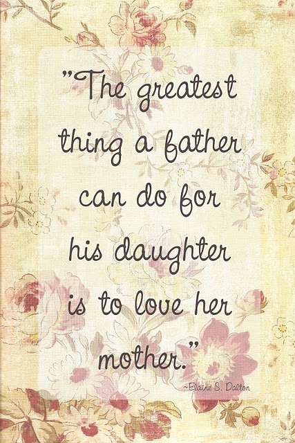 love her mother! - Elaine Dalton