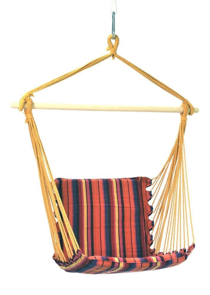 Hanging Hammock Chair Swing Lounge Romantic Seat Bubble Classical Brazilian