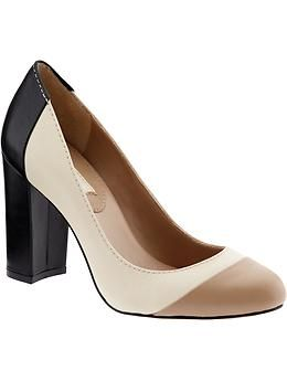 Perfect work shoe for conferences. Stylish, but with a stable heel for when I have to run from room to room.