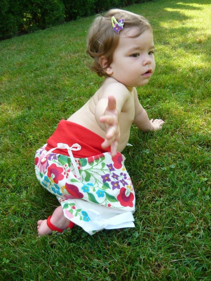 4az1ben Varázsruha - rövidnadrág verzió/ 4in1 Multifunctional baby dress - as a short here