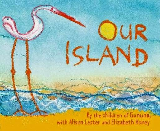 Australian Picture Books: Our Island by the children of Gununa