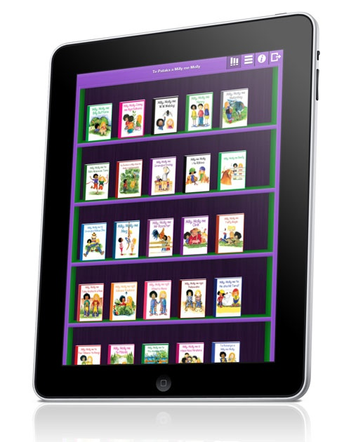 Te Pataka a Milly me Molly includes 30 QBook's NARRATED IN TE REO MAORI, ready for you to download for FREE. We have these on our iPad :)