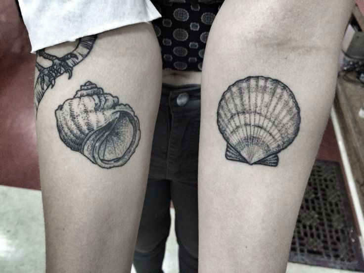 37 Unique Shell Tattoo Design Ideas
