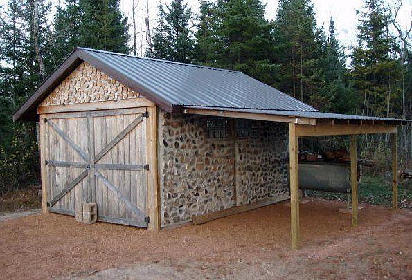 Diy plans 12x16 sugar shack workshop maple syrup boil for Wood pole barn plans free