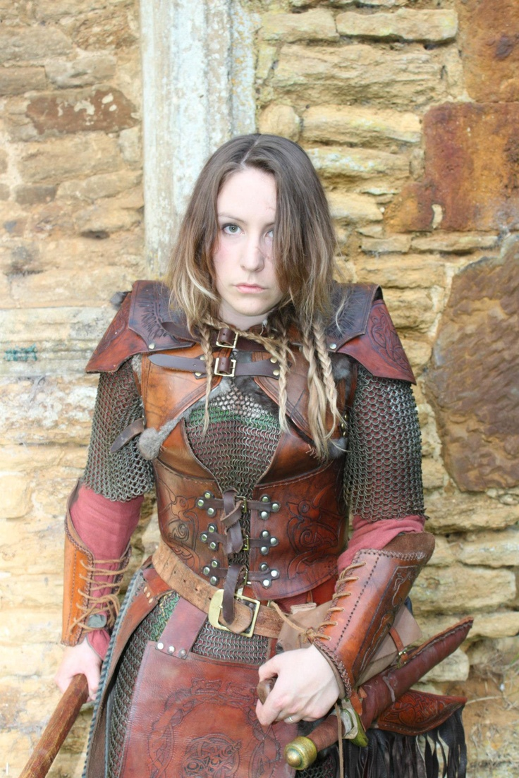 Possibly LARP gear, but very cool.