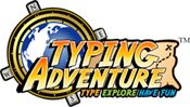 Typing Adventure - Games including Typer Shark (reference for parents looking for an online typing program).