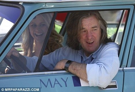 James May and Madison Welch #TopGear
