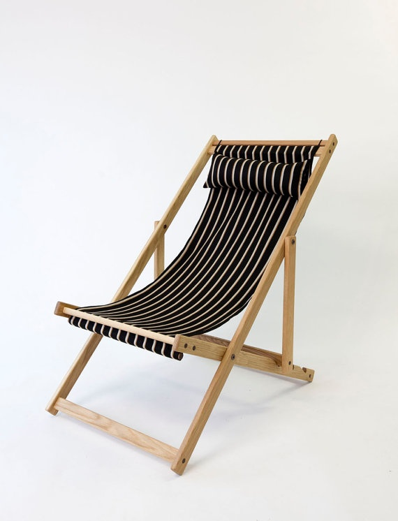 Classic Deckchair   #deckchairs #home #outdoors #yourhomemagazine #camping  #garden #