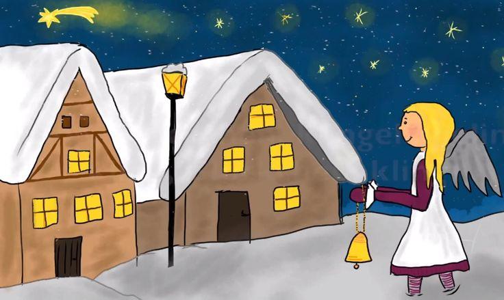 Kling Glöckchen klingelingeling - a traditional German childrens' Christmas song (with lyrics)