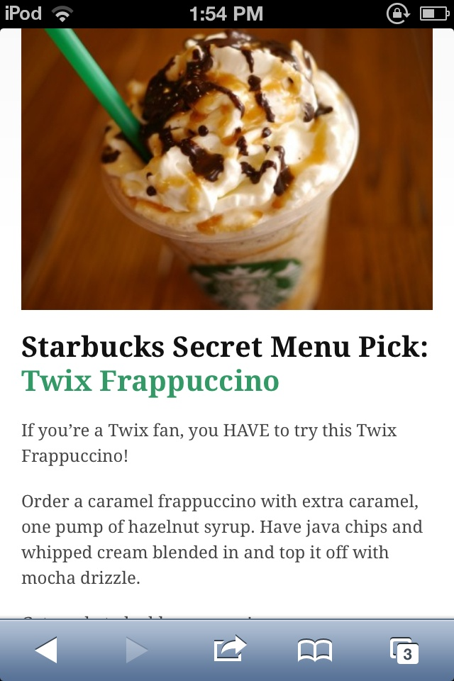 Préférence 36 best Starbucks secrets images on Pinterest | Starbucks secret  MA26