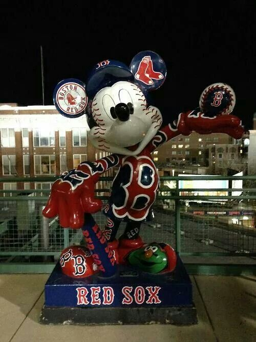 Who couldn't love Mickey, especially with my Red Sox.