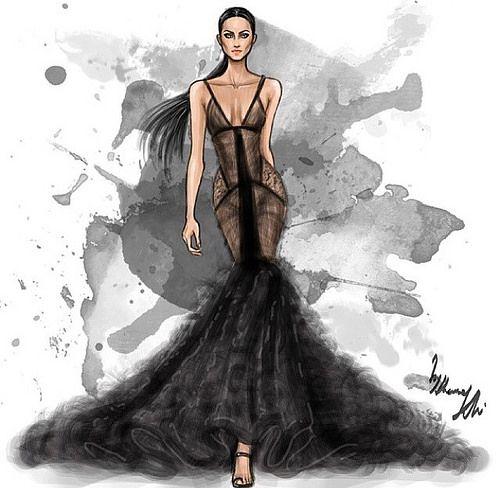 Fashion illustrator by Shamekh