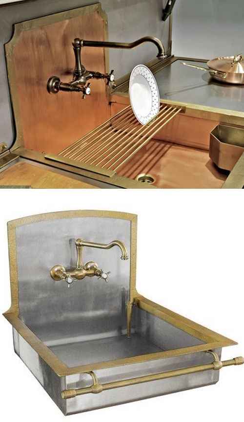 Designing a custom kitchen sink. | Kitchen sink design, Sink ...