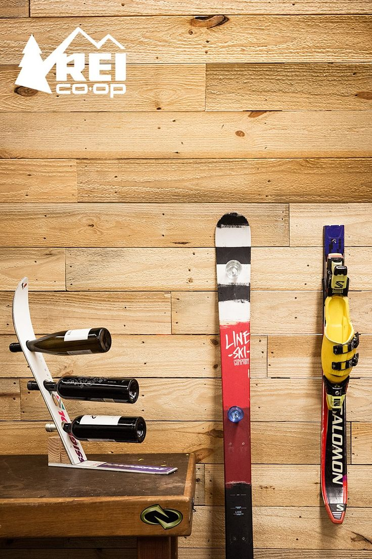 How to Make a Shot Ski (and Other Uses for Old Skis Shot