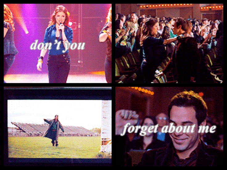 Don't you Forget about me. Pitch Perfect.