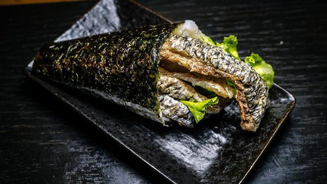 #delicious hand roll from Ten Sushi in #seattle - #imenehunes #food #yum #tempting #japanesefood #sushi #sushiroll #handroll #sushihandroll #tensushi #visitseattle #visittensushi