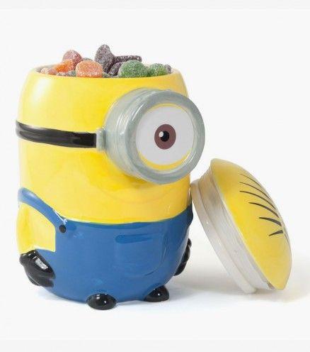 Achetez la boîte à cookies Minions en céramique sur lavantgardiste et laissez Stuart protéger vos gourmandises.