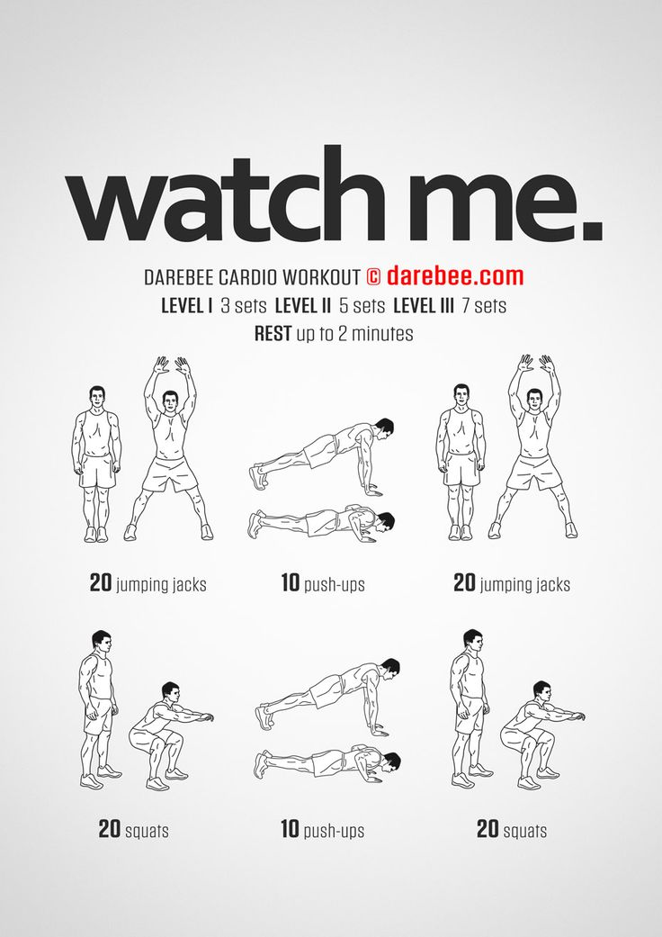 Watch Me. Workout