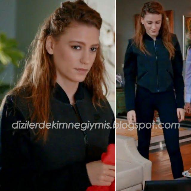 Medcezir - Mira (Serenay Sarıkaya), Nike Black Jacket