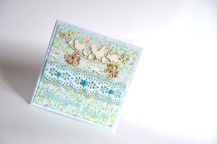 Easter card / scrapbooking by Bluebell