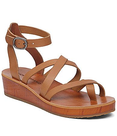 Lucky Brand Honeyy Low Platform Wedge Sandals #Dillards