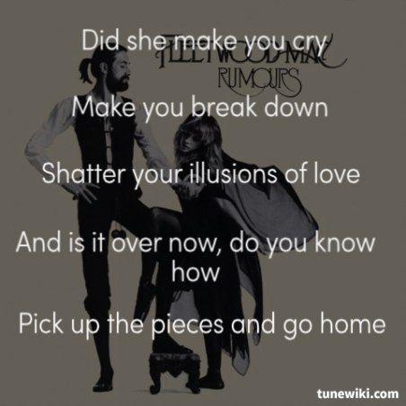 Fleetwood Mac- Gold Dust Woman #FleetwoodMac #song #lyrics