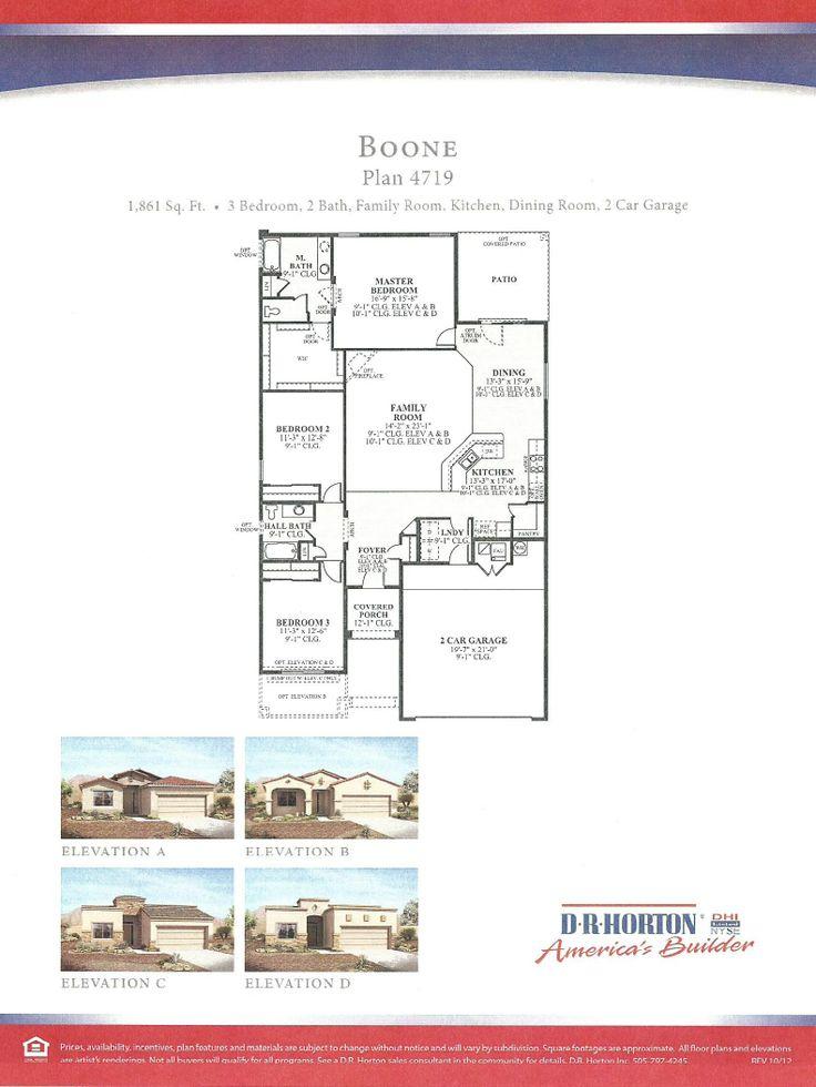 Dr Horton Homes Floor Plans House Plan