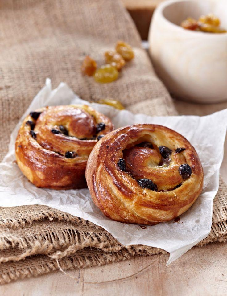 caramel à la fleur de sel: Danish Pastries