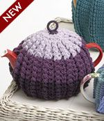 Doulton Tea Cosy - Free Patons crochet pattern in 2 sizes. Dk/8ply yarn, 4mm hook. This links to the Pdf.