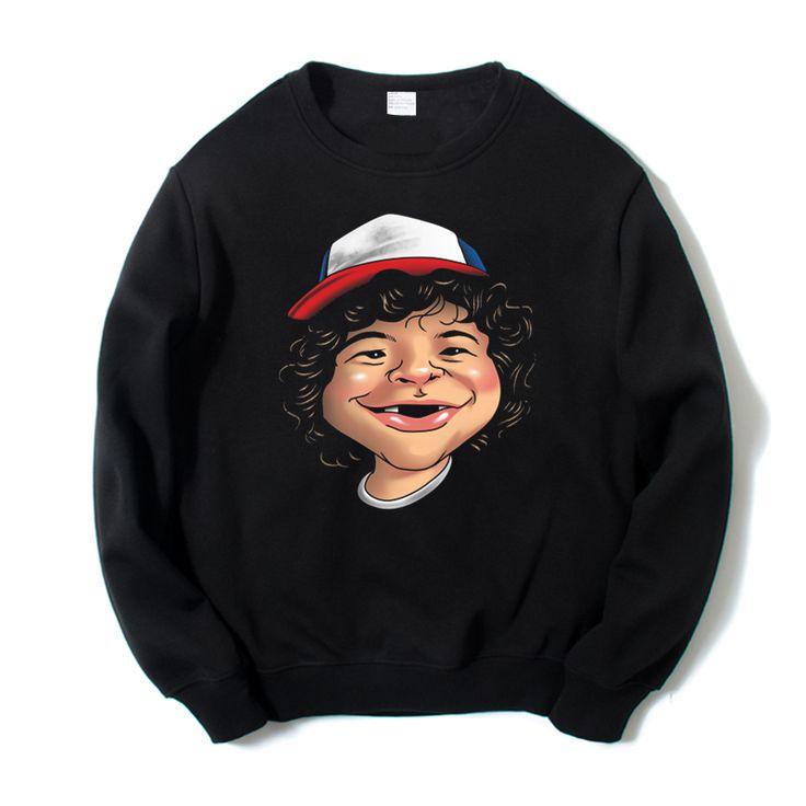 Stranger things dustin comic head portrait unisex digital print sweatshirts1