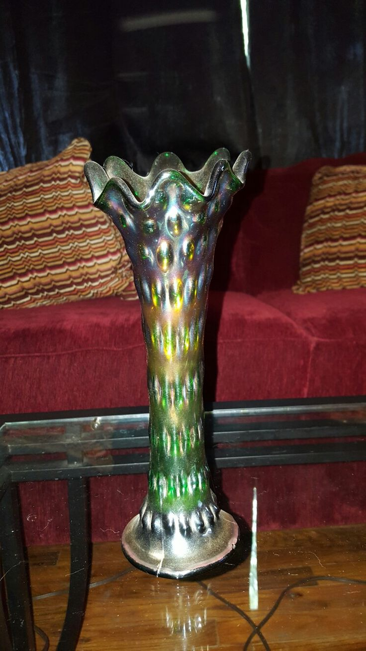 22 best my vase collection images on pinterest vase jars and vases green carnival glass vase reviewsmspy