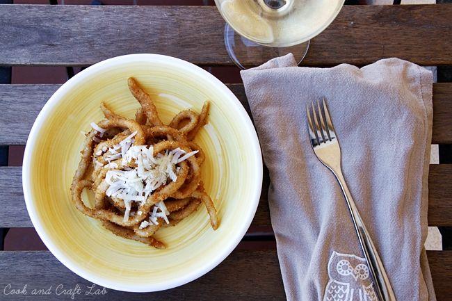 Pasta fresca (sin huevo) con migas | Cook and Craft Lab
