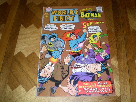 DC World's Finest Comics 168 Superman and Batman DC by HeroesRealm, $9.99