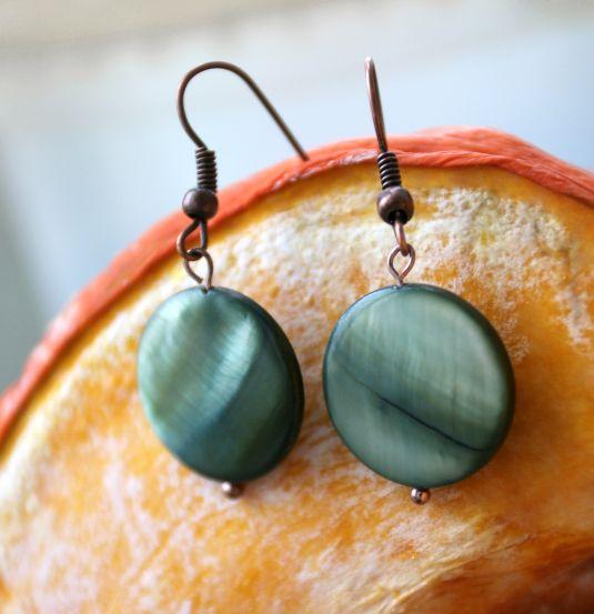 Лесное | Серьги | Аксессуары | Uniqhand - сообщество любителей необычных вещей