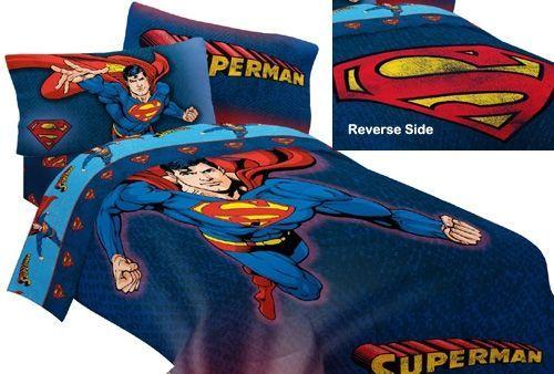 Superman Room, Superhero Room And Batman Room Decor