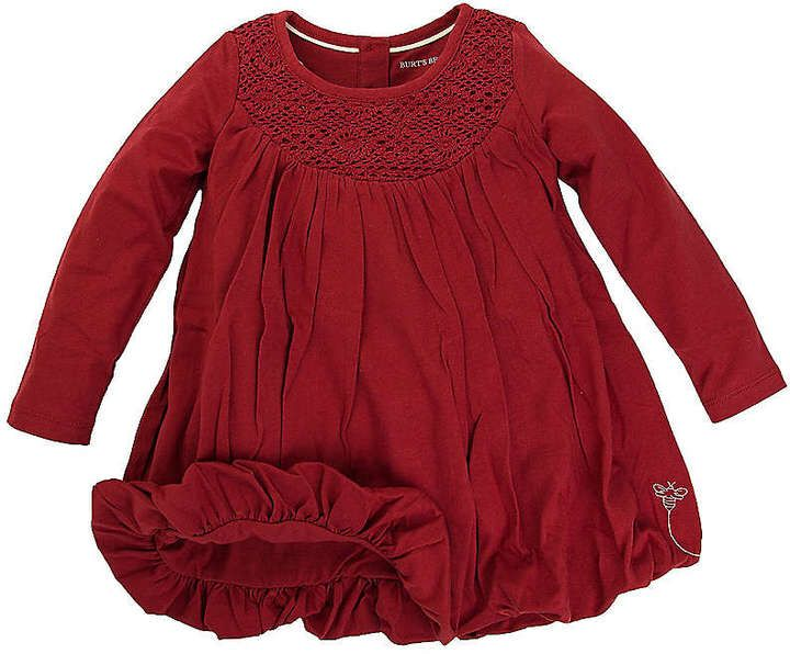 Burts Bees Baby girl holiday dress! Baby girl winter dress. #affiliate