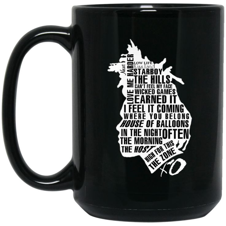 The Weeknd Mug Songs Coffee Mug Tea Mug The Weeknd Mug Songs Coffee Mug Tea Mug Perfect Quality for Amazing Prices! This item is NOT available in stores. Guaran