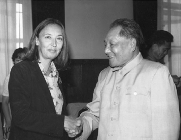 Oriana intervista Deng Xiaoping nel 1982 - Foto - Oriana Fallaci