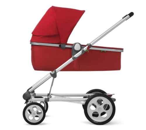 Seed - PLI Pram/Pushchair - Red Swivel Wheel - New
