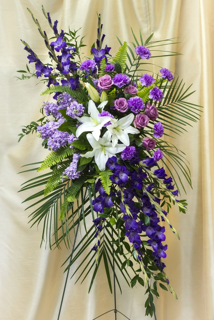 Kansas City sympathy and funeral flower arrangements.