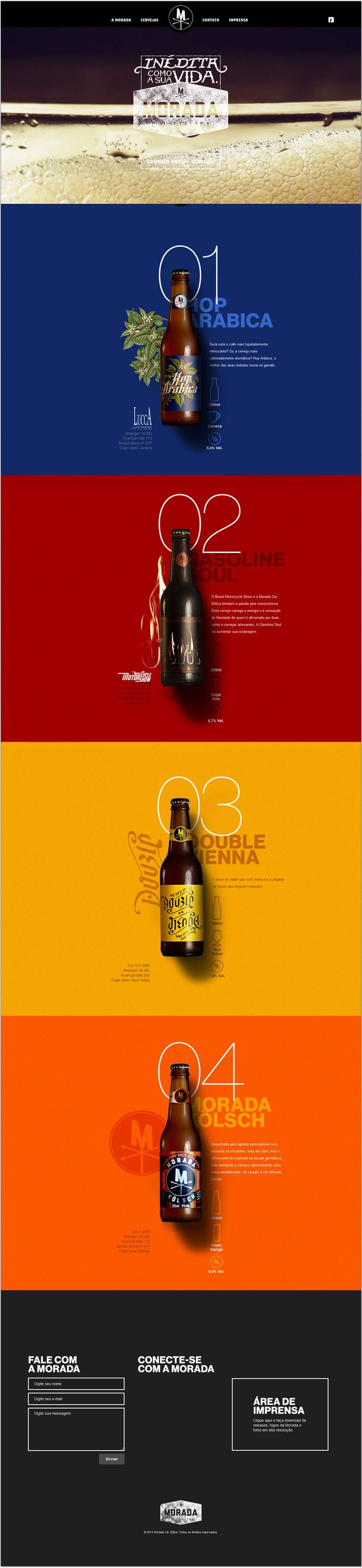 Unique Web Design, Morada #WebDesign #Design