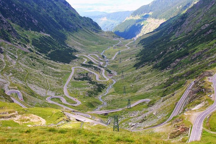 Romania's most amazing roads and its fantastic mountains ~ Romania Tours