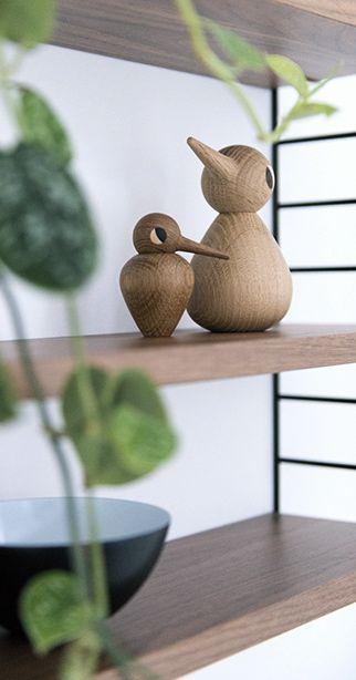 Via Woonblog   String Pocket   Architectmade Vedel Bird