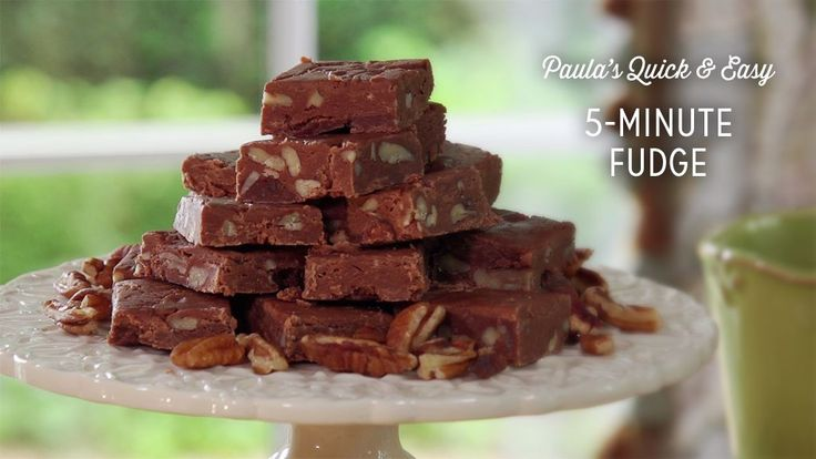 Check out what I found on the Paula Deen Network! 5-Minute Fudge http://www.pauladeen.com/5-minute-fudge